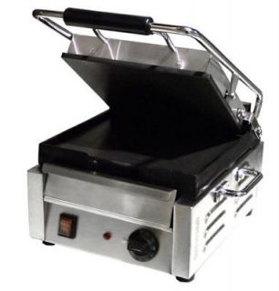 Stainless 10.5in Commercial Electric Sandwich Grill NEW