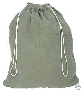 USGI BARRACKS BAG US MILITARY ARMY USMC LAUNDRY SACK MADE IN USA