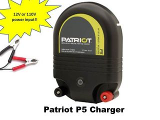 kit Patriot Electric Fence Energizer Charger & voltage tester