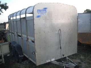 Ifor Williams Stock Trailer TA 510
