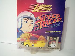 Newly listed 2000 Johnny Lightning Speed Racer