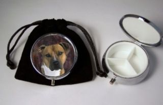 American Pit Bull Terrier Dog Breed Pill Box