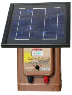 Parker McCrory MAG12 SP Solar Powered 12V Fence Charger 30 Mile Low