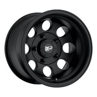 PRO COMP ALLOY 15 x 8 FLAT BLACK 8 HOLE WHEELS 5x4.5   Set of 4