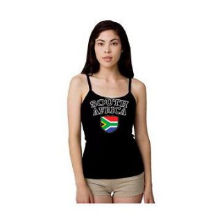 SOUTH AFRICA Soccer Tank Top American Apparel T shirt