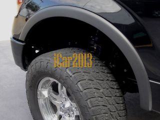 04 08 FORD F150 FENDER FLARES FACTORY STYLE   4 PIECES (Fits F 150)