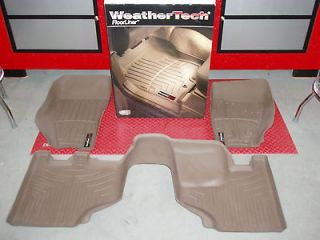 WeatherTech Tan Floor Liners 2008 2012 Jeep Liberty Front/Rear Set