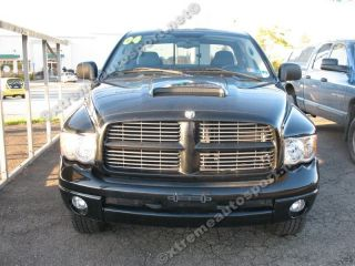 Dodge Ram Hood Scoop Kit Style HS009 2002 2008 UN PAINTED