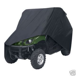 Yamaha Rhino UTV All Weather Rugged Storage Cover Black