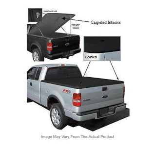 Tonneau Cover Truck Bed Ram Fiberglass Security Built Hard Dodge 1500