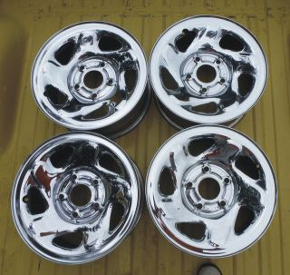 16 DODGE RAM 1500 5 SPOKE CHROME WHEEL WHEELS RIMS