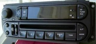 CHRYSLER 300M Sebring Town Country Dodge Dakota Intrepid Neon RADIO CD