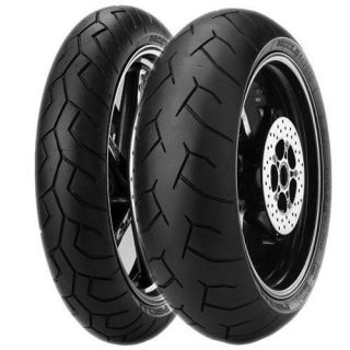 New Pirelli Diablo Front Rear Tire Set 120/70 180/55 17