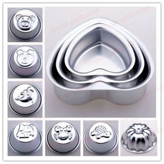 Hot VG Aluminum CAKE PAN Mold cooking decorating supplies fondant