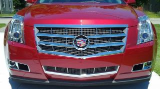 2008 2011 Cadillac CTS Chrome Grille Grill Overlay new 6 piece kit