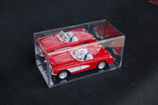 12 Seamless Diecast 1/32 Model Car Display Cases Mirror