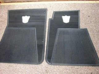Vintage Ford floor mats with Ford Logo in great shape.These are hard