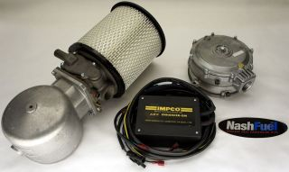 IMPCO COMPLETE DUAL FUEL CONVERSION KIT CHEVY GMC 87 95 7.4L 454 V8