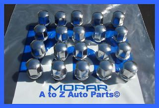 Dodge Charger,Magnum,Challenger, Chrysler 300 OE STYLE Chrome Lug Nuts