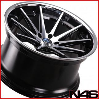 20 HYUNDAI GENESIS COUPE ROHANA RC10 MACHINED CONCAVE STAGGERED
