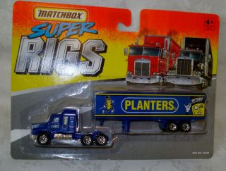 1996 Matchbox Planters Mr Peanut Super Rig Semi Truck/Mint