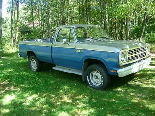 Dodge  Power Wagon two tone 1979 Dodge Power Wagon Pickup Truck