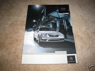 2006 Mercedes Benz C 230 350 55 AMG C230 C350 C55 sales brochure