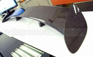 CARBON FIBER UNIVERSAL 51 HYUNDAI ROHENS COUPE HINO GT REAR WING