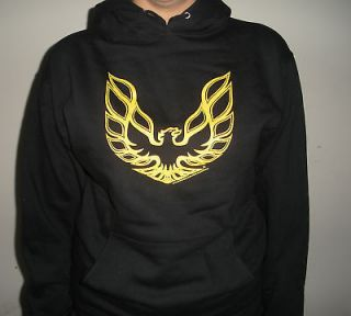 Pontiac Firebird Formula Trans Am GTA Mens Hoodie Sweatshirt Black