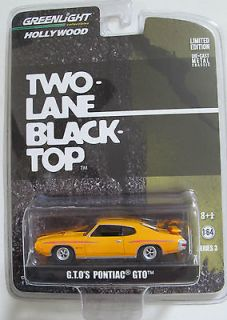 GTO TWO LANE BLACK TOP MOVIE CAR 1970 PONTIAC GTO LIMITED EDITION