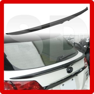 SUBARU LEGACY trunk rear waist spoiler wings 2009~ OUTBACK WAGON
