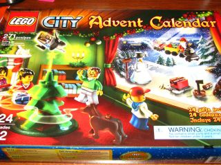 Lego City Advent Calendar 2010 NEW City