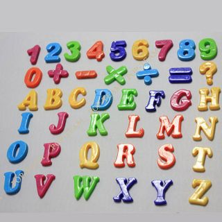26 Letter Alphabet Number Sign Fridge Magnet Baby Educational Toy Jz9