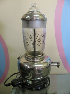 RARE Art Deco Perculator Coffee Pot Made In Germany Moccadur