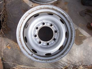 00 01 02 DODGE RAM 2500 STEEL WHEEL 8 LUG RIM 16X7 1/2 16 x 7.5