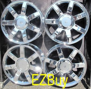 22 INCH ESCALADE GMC CHEVROLET NEW CHROME WHEELS RIMS 5309 W/CHROME