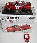 New Dale Earnhardt Jr Budweiser 2003 Diecast 1/24 Scale Test Car With