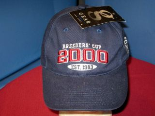 BREEDERS CUP 2000 Thoroughbred Horse Racing Est. 1983 Embroidered