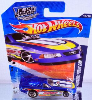 Hot Wheels Mustang Funny Car 2011 HW Drag Racers