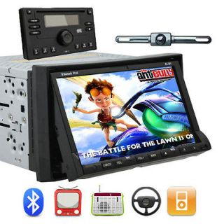 CAM+AUTOMOTIVE CAR STEREO DVD PLAYER BLUETOOTH RADIO 7 TOUCHSCREEN HD