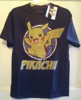 Pokemon PIKACHU Adult Mens/Womens Vintage Look T Shirt SIZE MEDIUM