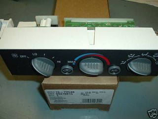 96 97 98 99 GM AC Heater Control Panel Chevy Truck Tahoe Yukon 1500