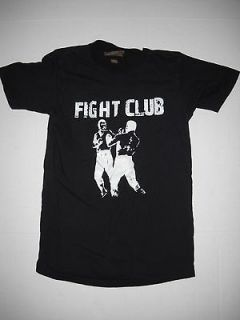 Mase T  Shirt Top Sz Sm Classic Black & White Decal Fight Club Tee