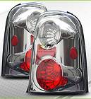 01 07 Ford Escape Euro Altezza Tail Lights Brake Lamps (Fits Ford