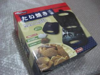 Electric Taiyaki grill maker Fish Shaped Pancakes sweets pan cake B