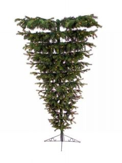Premium Pre Lit Christmas Tree Pine Inverted Upside Down