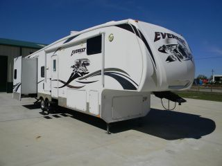 2009 KEYSTONE EVEREST 305T FIFTH WHEEL RV 35 FT TRAILER THREE SLIDES