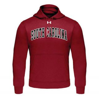 South Carolina Gamecocks Under Armour Tackle Twill Fleece Hooded