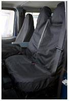 FORD TRANSIT TIPPER VAN BLACK SEAT COVERS PROTERTORS