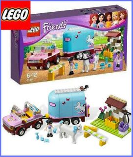LEGO FRIENDS 3186 Emmas Horse Trailer Girls Emmas NEW sealed Box toy